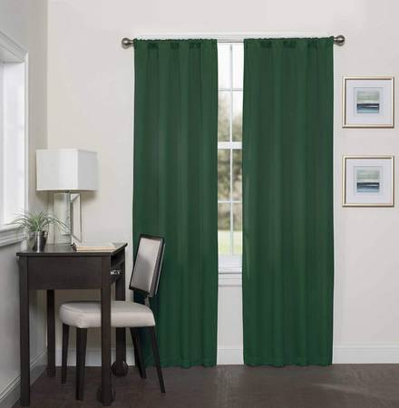 Photo New Pair of Darrell Blackout Curtain Panels in Emerald Green - $10 (Wyoming)