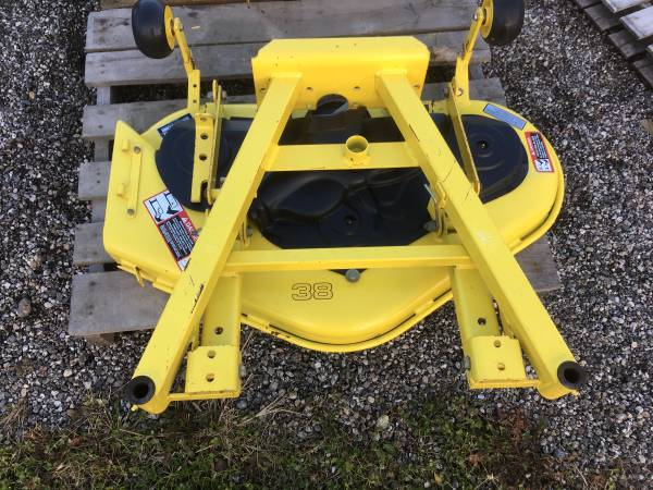 Photo New and Used John Deere Mower Decks For Lawn and Garden Tractors 34-54 - $100 (Wayland)