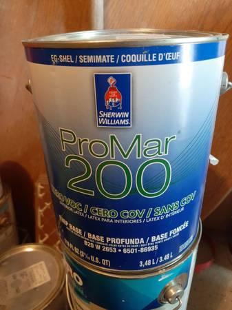 Photo Paint  1 gallon interior Sherwin Williams eggshell finish sw7513 - $10 (Wyoming)