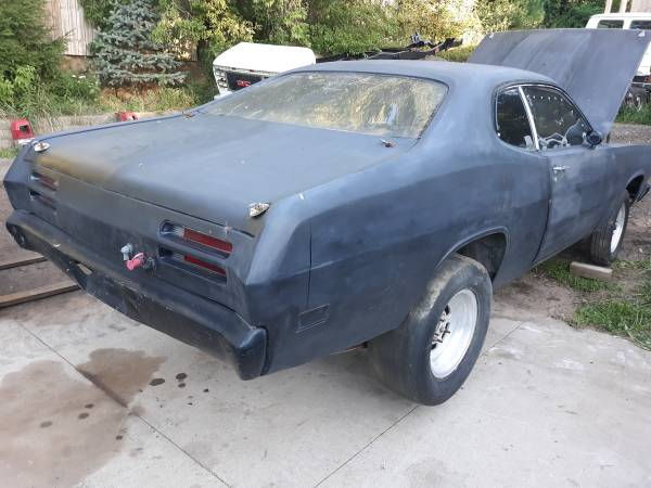 Photo Plymouth Duster Drag Car Bare Shell - $1 (Caledonia)