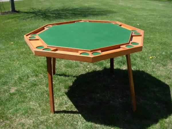 Photo Poker Table - $50 (Grand Rapids)