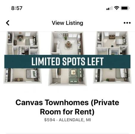 Photo Private Room for rent ( Really Nice) (Allendale)