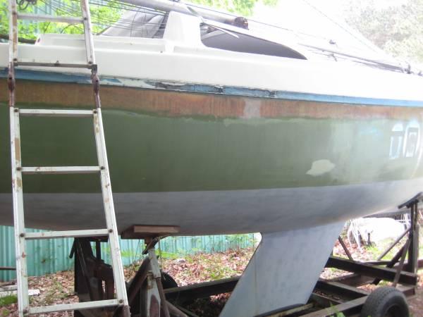 Photo Sailboat Columbia 26 MK 2 with trailer - $1,800 (Grand Haven Michigan)
