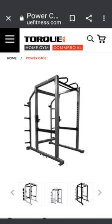 Photo Torque Full Cage Squat Power Rack - $2,395 (Saranac)
