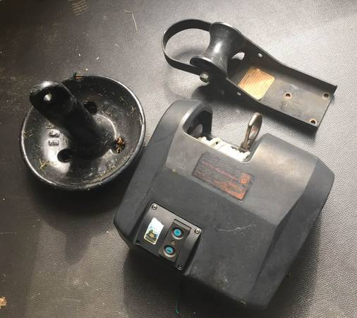 Photo Trac 25 Electric Boat Anchor Winch with 15LB Anchor - $125 (Ionia)