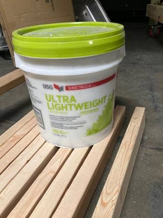 Photo Ultra Lightweight Joint Compound - Drywall Mud - $80 (Wyoming)