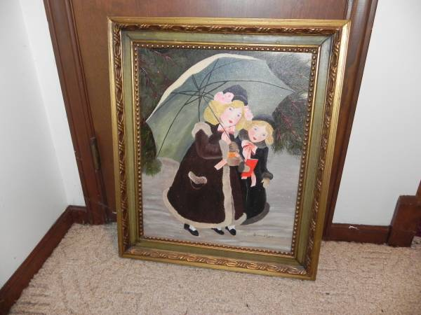 Photo Victorian style Oil painting - $80 (Wyoming)
