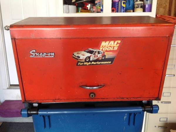 Photo Vintage Snap on Tool Box chest top KR-56 - $239 (Rockford)