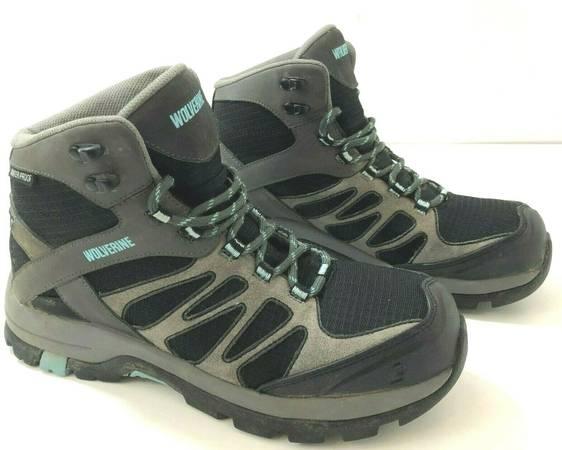 Photo WOLVERINE Womens 9 Fletcher Composite Toe Waterproof Work Hiking Boots - $50 (Rockford)