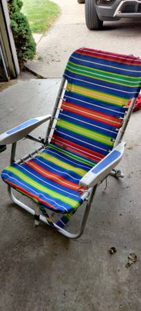 Photo beach chair - $10 (Grandville)
