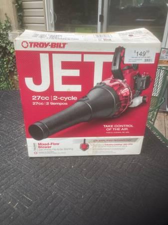 Photo troy-bilt JET air blower - $50 (Alto)
