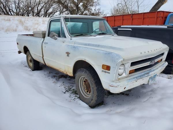 Photo 1968 Chevrolet K20 pickup - $5,250 (Havre)