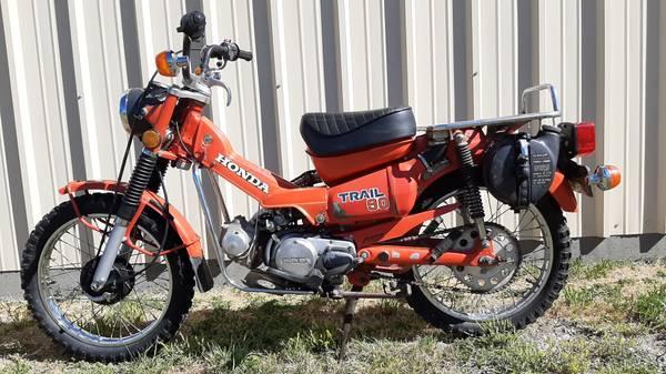 Photo 1979 Honda Trail 90 Motorcycle For Sale - $1,650 (Meeteetse)