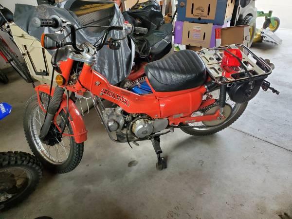 Photo 1980 Honda CT 110 - $1,800 (South Bozeman)