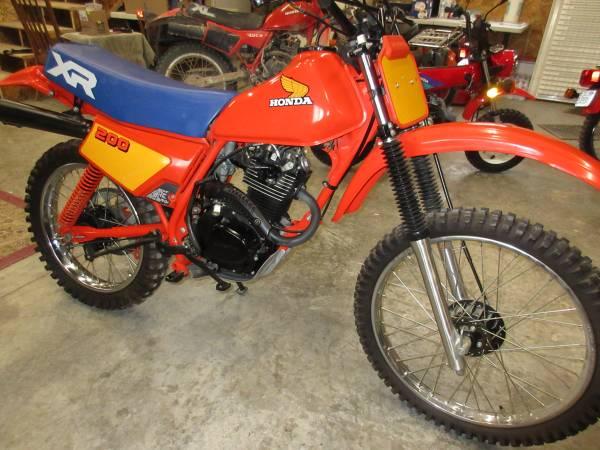Photo 1984 Honda XR 200 BRAND NEW - $5,295 (Townsend)