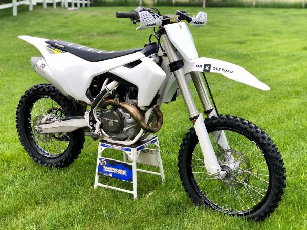 Photo 2016 HUSQVARNA FC 450 - build your snowbike - $5,800 (Missoula)