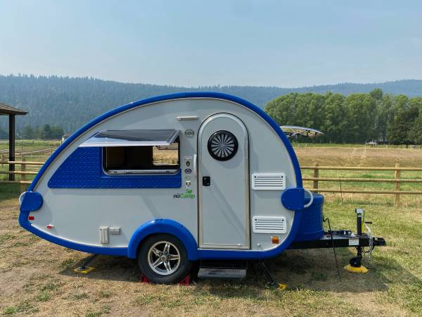 Photo 2017 nuC TB 320S Teardrop RV with attachable Walker Cstyle tent - $17,000 (Missoula)