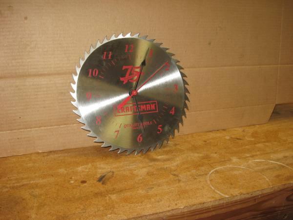 Photo Craftsman 75th Anniversary Shop Clock - $19 (Bitteroot  Misoula)