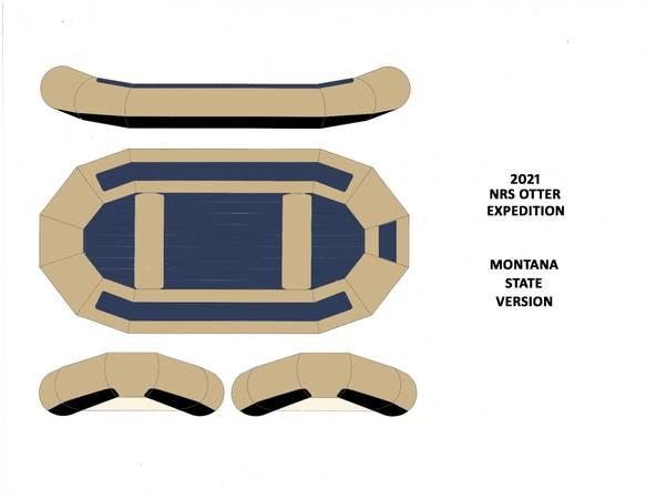 Photo Custom NRS Otter Raft-MSU Colors - $4,995 (West Billings)