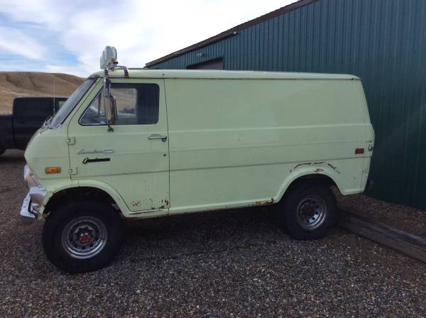 Photo Ford Factory 4x4 Short Van - $3300 (Shelby)