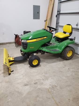 Photo John Deere X300 Lawn Tractor - $1,800 (Near Great Falls)