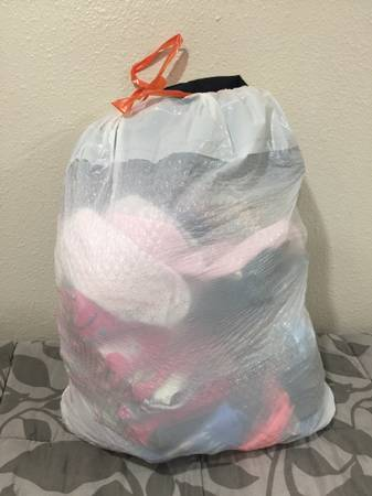 Photo Large Bag of Clothing Girls Size 4T and Shoes Size 78 - $50 (Kalispell)