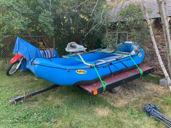 Photo Like New NRS Otter 130 Self-Bailing Raft - $5,800 (Helena)