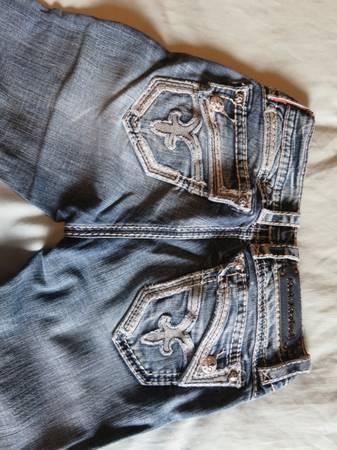 Photo Rock Revival Jeans-size 26 - $30 (Missoula)