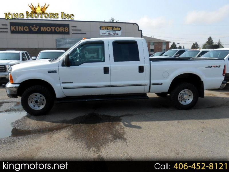 Photo Used 1999 Ford F250 4x4 Crew Cab Super Duty for sale