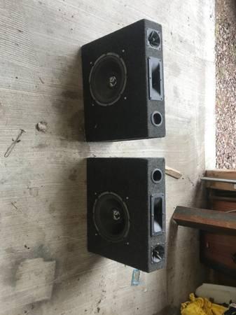 Photo 10 inch Rockford Fosgate speakers - $90 (Greatfalls)