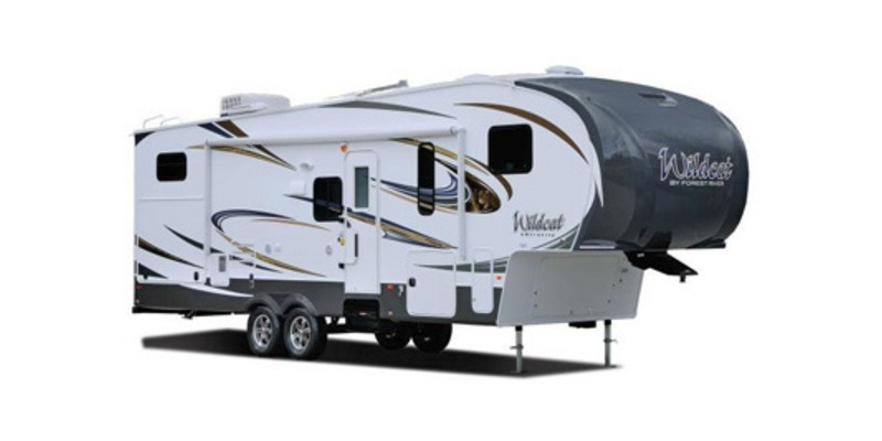 Photo Used 2014 Forest River Fifth Wheel RV  $31151