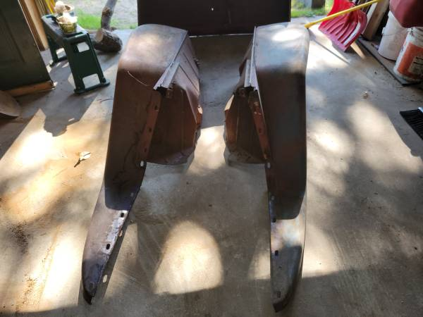 Photo 1947 to 1960 willys jeep delivery hood and finders - $350 (Wausaukee)