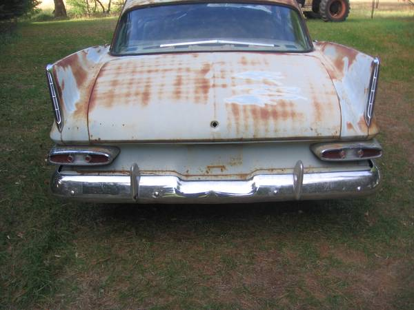 Photo 1959 59 Plymouth Belvedere 4DR Cool Mopar Rat Rod With Big Fins - $1500 (Shawano)