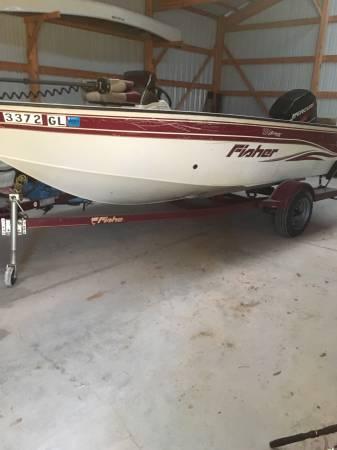 Photo 2003 FISHER 16.5 ft Boat - $8,800 (Door cty)