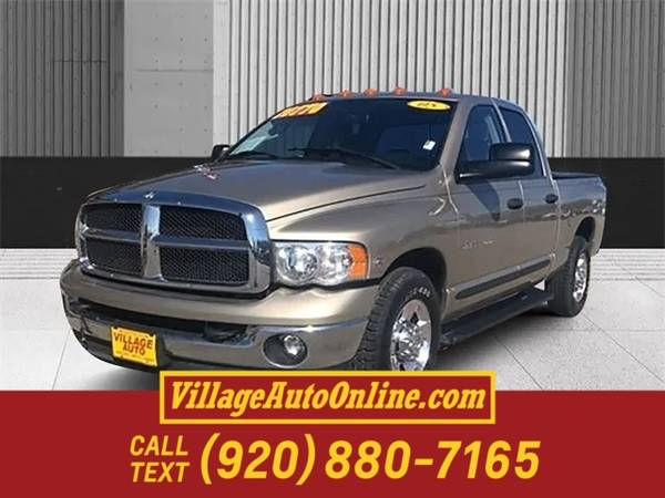 Photo 2005 Dodge Ram 3500 SLT - $17990 (Green Bay - On 29)