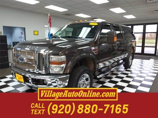 Photo 2008 Ford Super Duty F-350 SRW XLT - $22,990 (Green Bay - On 29)