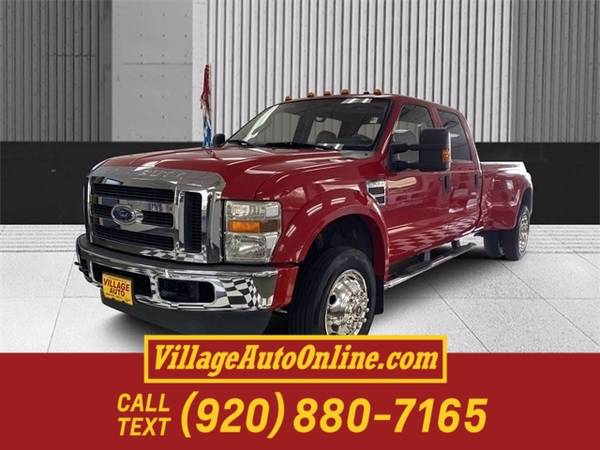 Photo 2008 Ford Super Duty F-450 DRW Lariat - $23,990 (Green Bay - On 29)