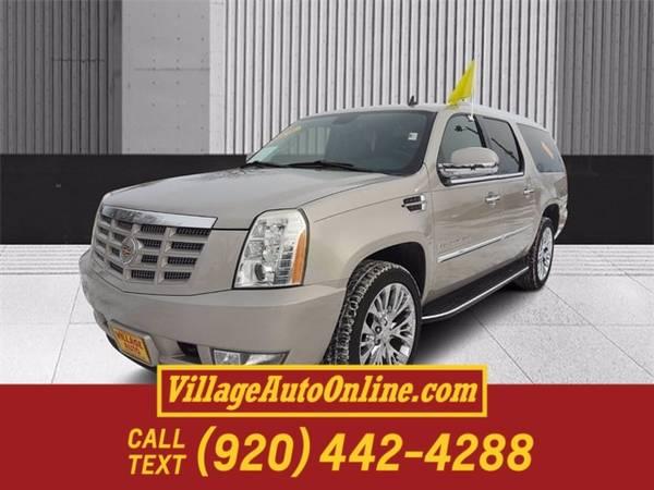 Photo 2009 Cadillac Escalade ESV Platinum Edition - $13,990 (Green Bay)