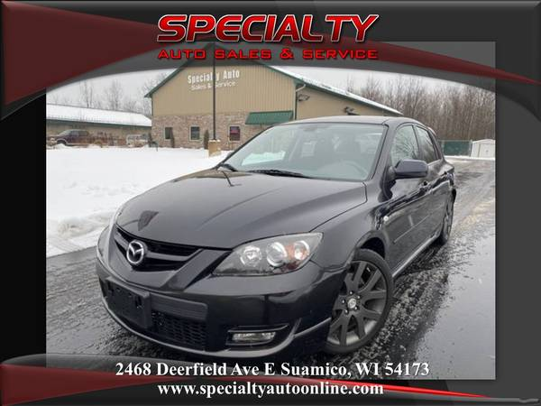 Photo 2009 Mazdaspeed3 Bose Sound New Tires Cruise Control Sunroof - $7495 (SPECIALTY AUTO, 1 MILE NORTH OF GB)