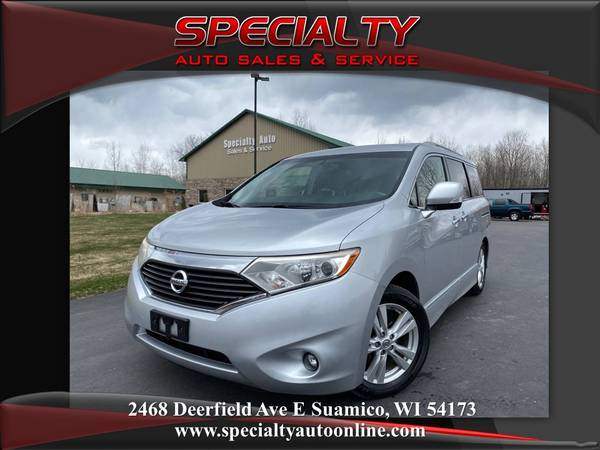 Photo 2011 Nissan Quest SL Htd Lthr DVD New Tires Clean Title - $9995 (SPECIALTY AUTO-1 MILE NORTH OF GREEN BAY)