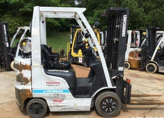 Photo 2014 Nissan Forklift Three Stage (Green Bay)