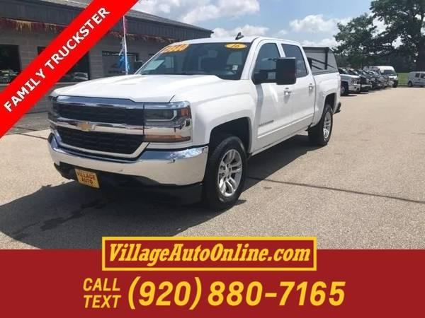 Photo 2016 Chevrolet Silverado 1500 LT - $22450 (Green Bay - On 29)