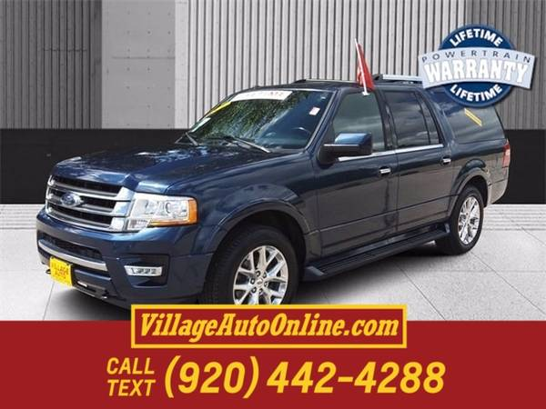 Photo 2017 Ford Expedition EL Limited - $29,990 (Green Bay)