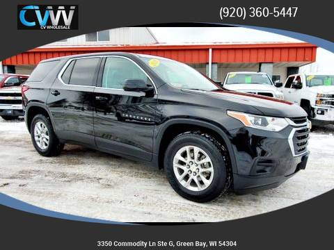 Photo 2018 Chevy Traverse AWD Clean Carfax  Only 47k Miles - $21990 (Green Bay)