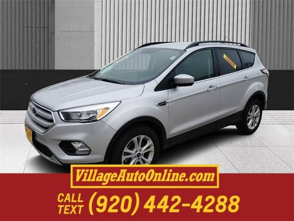 Photo 2018 Ford Escape SE - $14,990 (Green Bay)