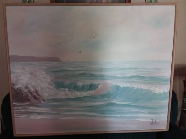 Photo 52quot Wide x 41quot Tall Ocean setting picture - $40 (West Green Bay by NWTC)