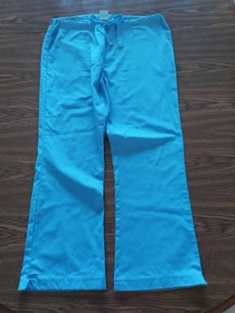 Photo 8 Ladies scrub pants, light blue - $10 (Little Chute, Wisconsin)
