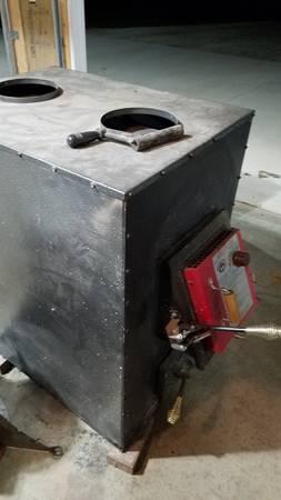 Add on wood coal furnace stove - $500 (North sturgeon bay)