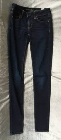Photo American Eagle dark blue pants size 0 - $8 (Green Bay)
