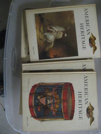 Photo American heritage books - $30 (Two Rivers)